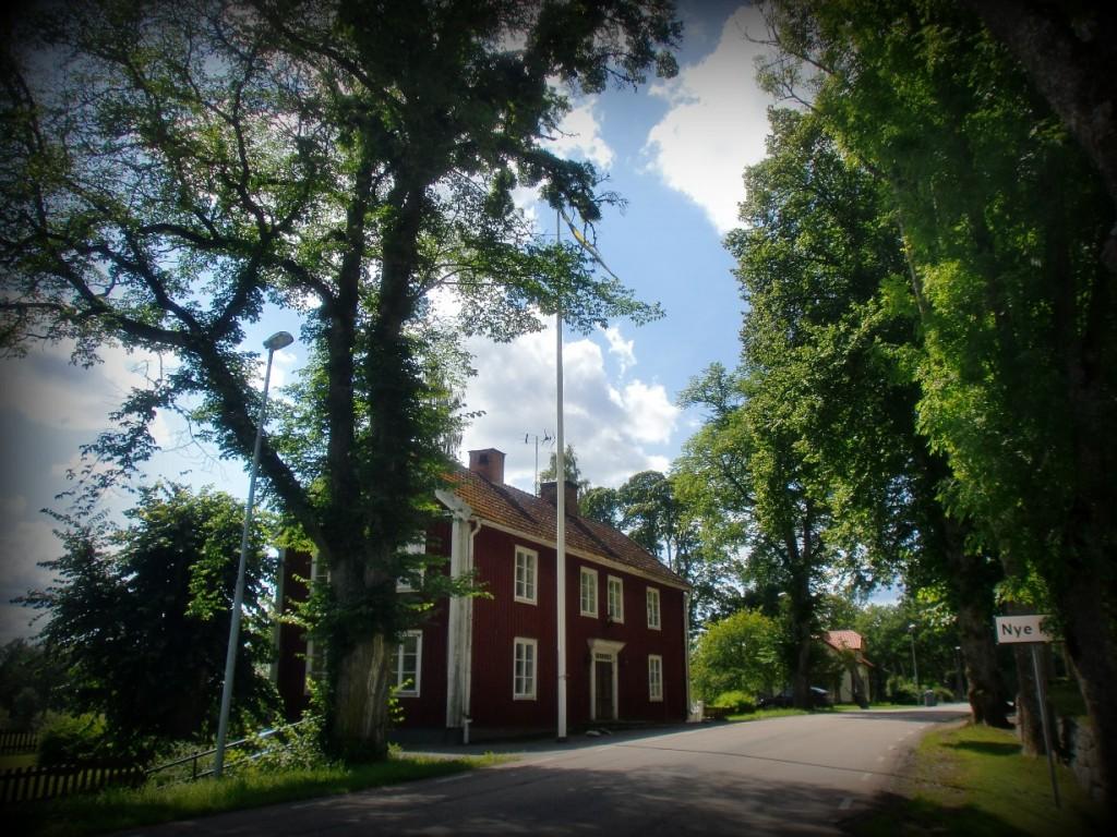 Området omkring Nye Kyrka i Småland.